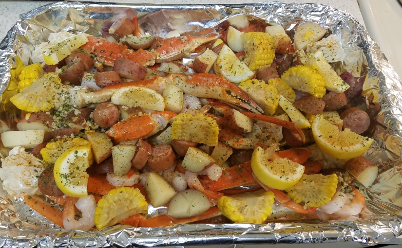 MY FIRST SEAFOOD BOIL!